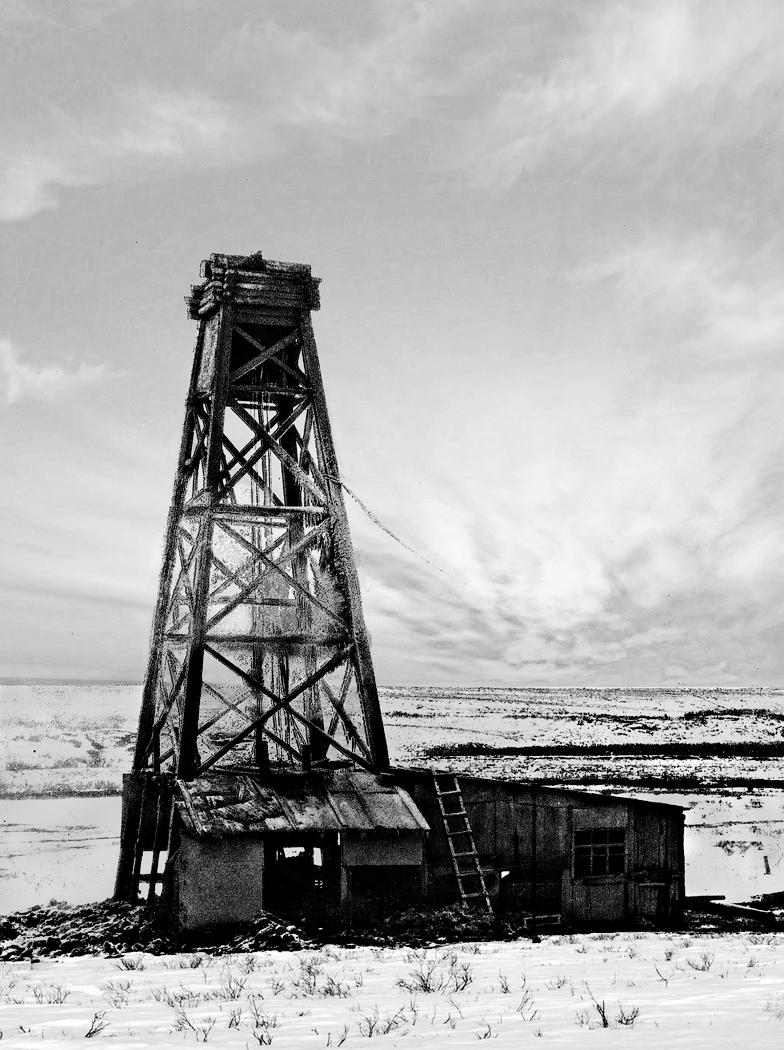 Первая газовая скважина России