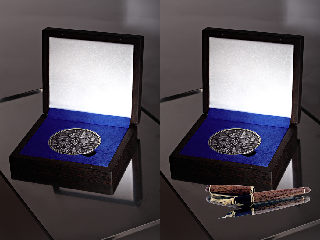 Медаль «Город Саратов» в футляре Венге (Фото 40)