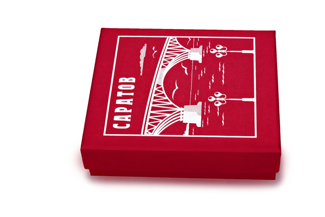 Медаль «Город Саратов» в футляре красный Бук (Фото 15)