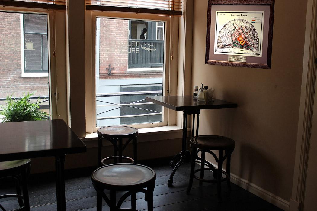 Интерьер кафе и ресторана