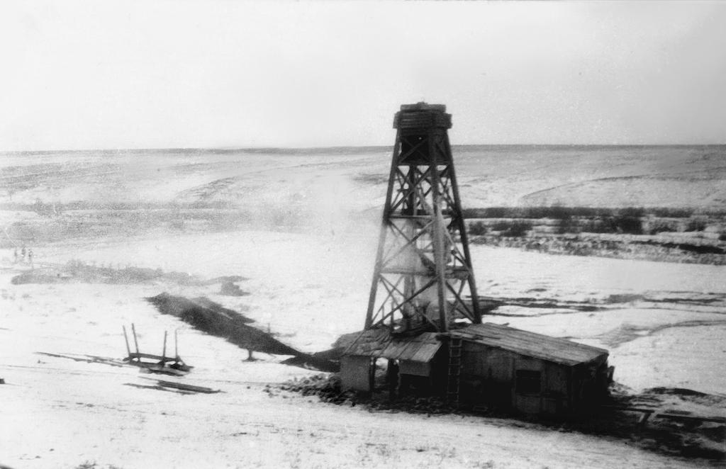 Первая газовая скважина