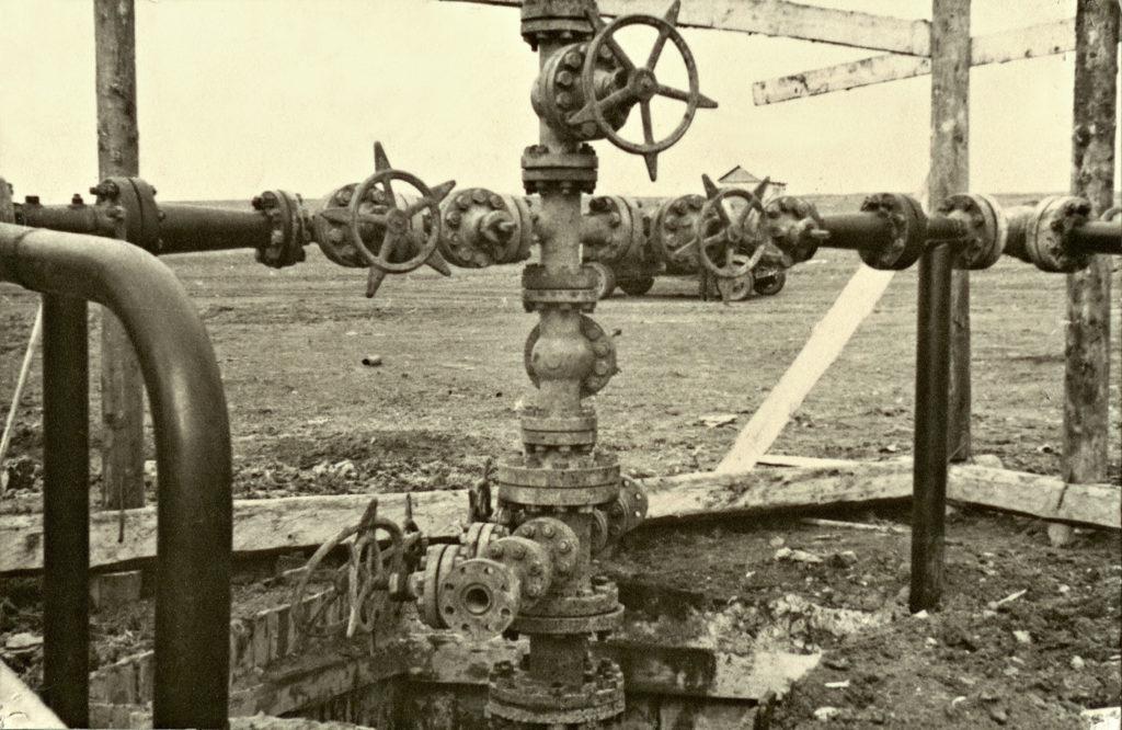 Газовая промышленность - газовая елка