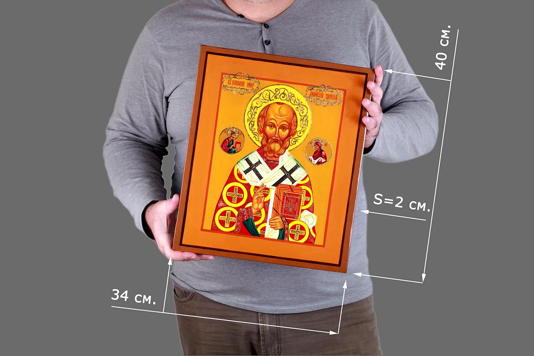 Большая рукописная икона