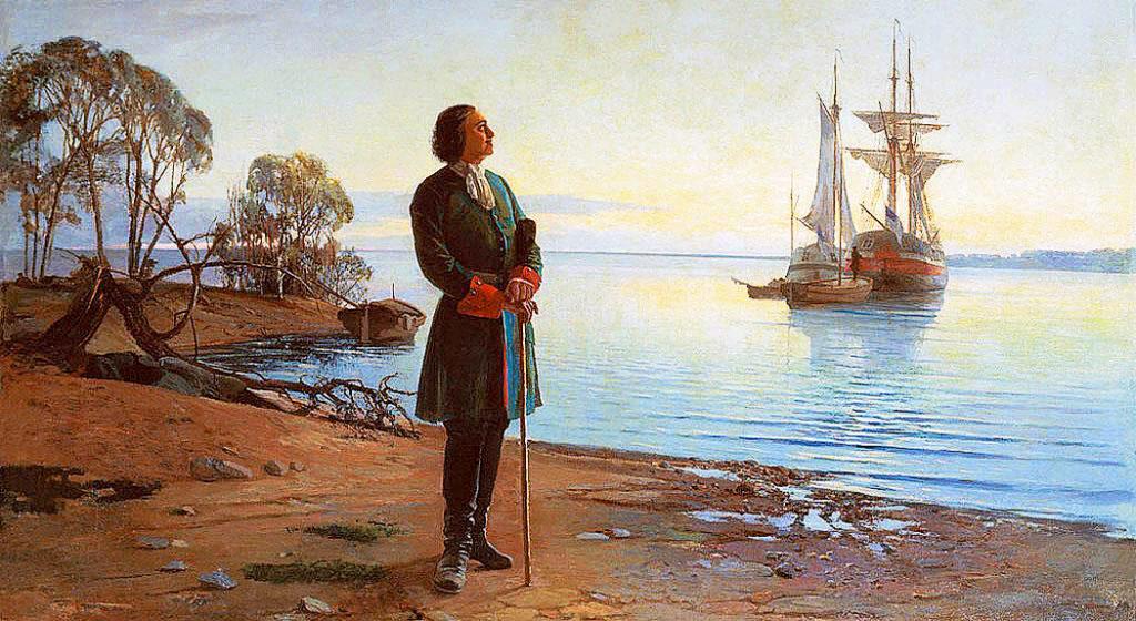 Петр Первый в Саратове