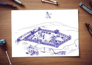 Сторожевая крепость Саратов
