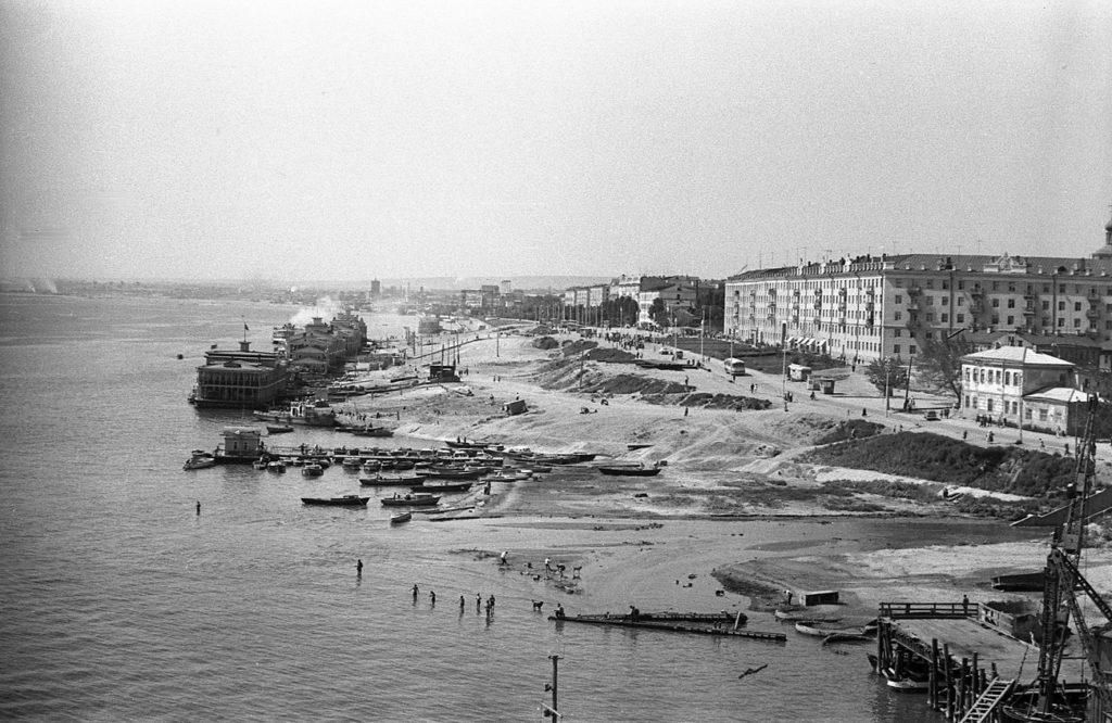 Строительство набережной Саратова